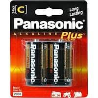 Panasonic C-Size Alkaline Plus Battery Pack
