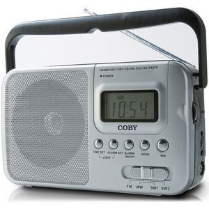 Coby CX-39 AM/FM/SW1/SW2 Radio Tuner