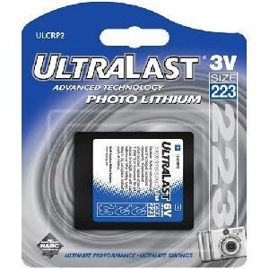 NABC UltraLast ULCRP2 CRP2 (223) Lithium Photo Camera Battery