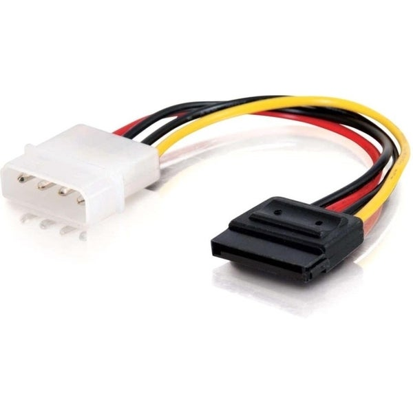 C2G 6in Serial ATA Power Adapter Cable