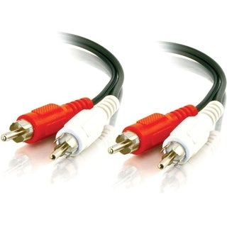 C2G 6ft Value Series RCA Stereo Audio Cable