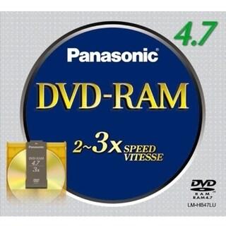 Panasonic 3x DVD-RAM Media
