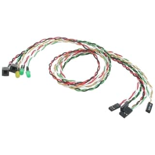 StarTech.com Replacement Power Reset LED Wire Kit for ATX Case Front