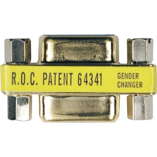 Tripp Lite Comapct Gold DB9 Gender Changer Adapter Connector DB9 M/M