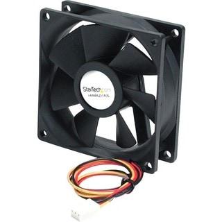 StarTech.com 80x25mm Ball Bearing Quiet Computer Case Fan w/ TX3 Conn