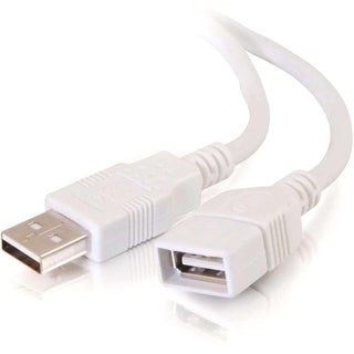3m USB 2.0 A to A Male to Female Extension Cable for PCs and Laptops