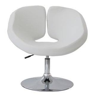 Pluto Adjustable White Chair