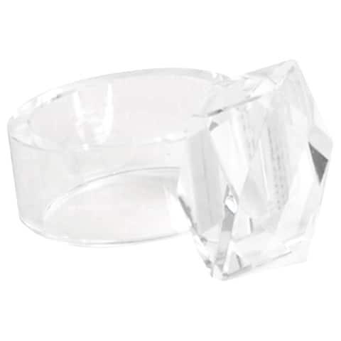Crystal Napkin Rings (Set of 4)