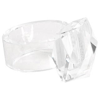 Crystal Napkin Rings (Set of 4)