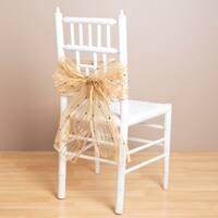Sheer Striped Chair Ties (Set of 2)