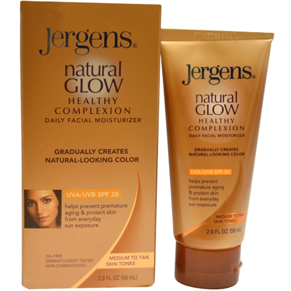 Jergens Natural Glow Face Daily Moisturizer With Spf