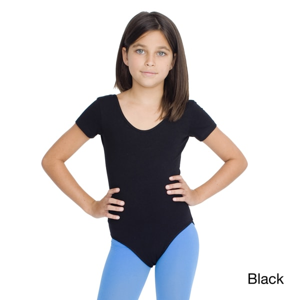 American Apparel Girls Cotton Spandex Jersey Leotard
