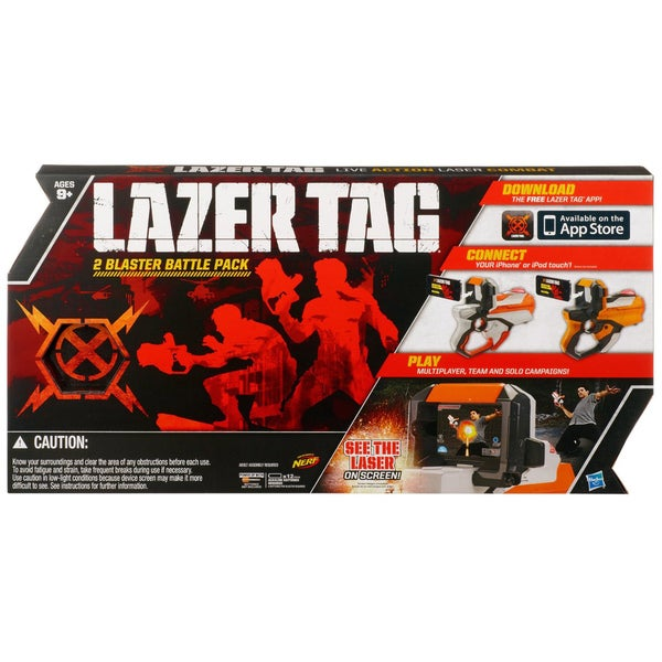 Nerf Lazertag 2-player Live Action Game