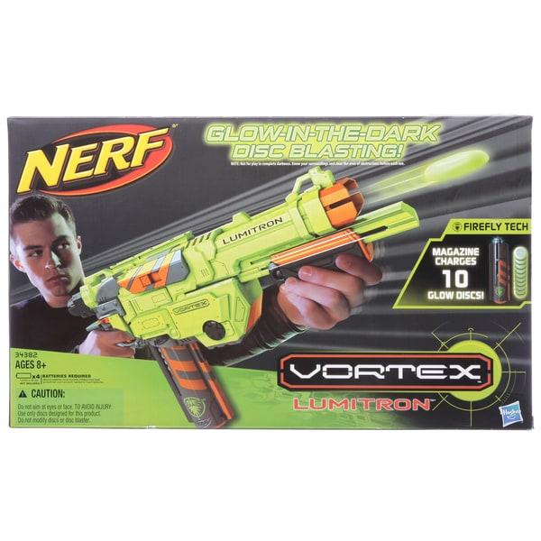 Nerf Vortex Lumitron (10 disc clip-GID)