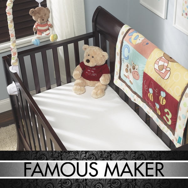 Famous Maker Waterproof Crib/ Toddler Bed Protectors (Set of 2)