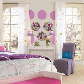 Wall Pops Twister and Plush Dot Wall Decals