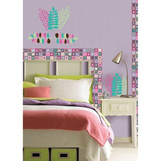 WallPops Espirit Blox and Stripe Set