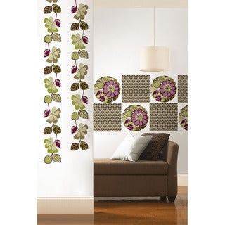 WallPops 9-piece Cameroon Dot, Blox and Stripe Decal Pack