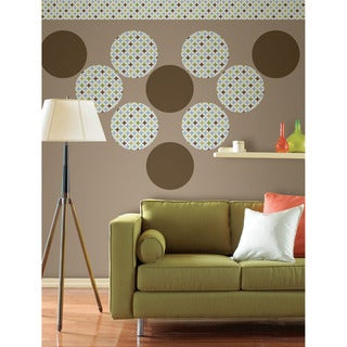 WallPops 14-piece Geo and Hot Chocolate Decal Pack
