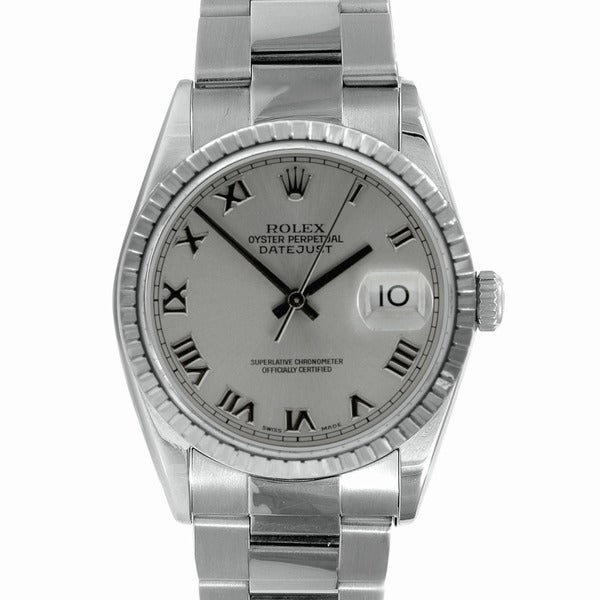 Pre-Owned Rolex Men's Stainless Steel Datejust Watch