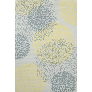 Filament Grey Wool Rug (5' x 7'6)