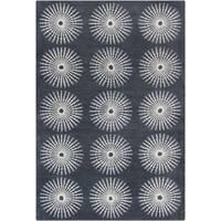 Filament Gray Wool Area Rug - 5' x 7'6