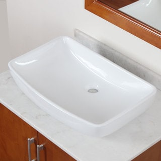 Elite Model 10059 High Temperature Grade A Ceramic Bathroom Sink