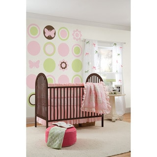 WallPops Pink Butterfly and Flower Bundle Vinyl Wall Art