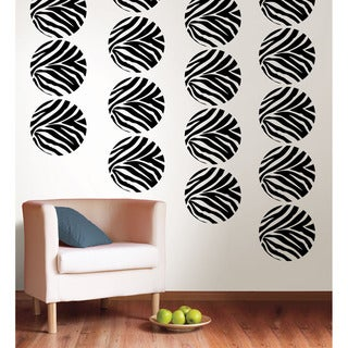 WallPops Go Wild Dot Decal Bundle Vinyl Wall Art