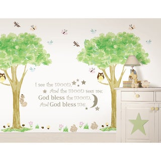 WallPops I see the Moon and Treehouse Kit Bundle Vinyl Wall Art