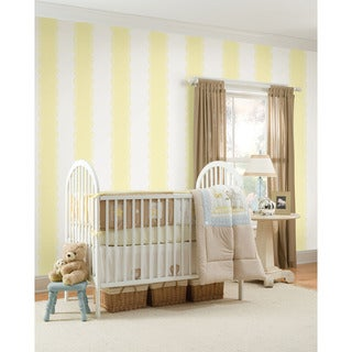 WallPops Buttercup Stripe Bundle Vinyl Wall Art