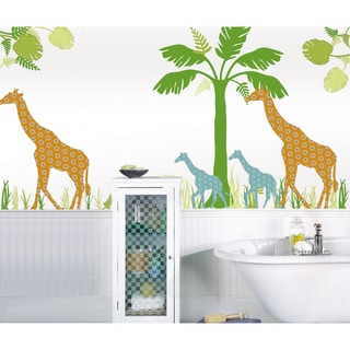 WallPops Riley the Giraffe Scene Pack