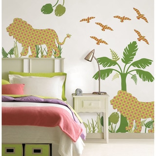 WallPops Ozzie the Lion Scene Pack