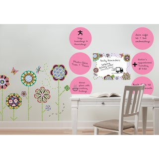 WallPops Flower Power Kit and Dry-Erase Pack