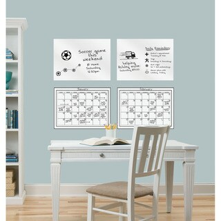 WallPops Dry Erase Whiteboard and Calendar Pack