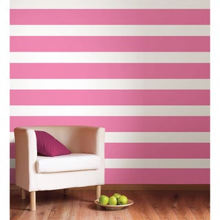WallPops Flirt Stripe Decals (Set of 4)