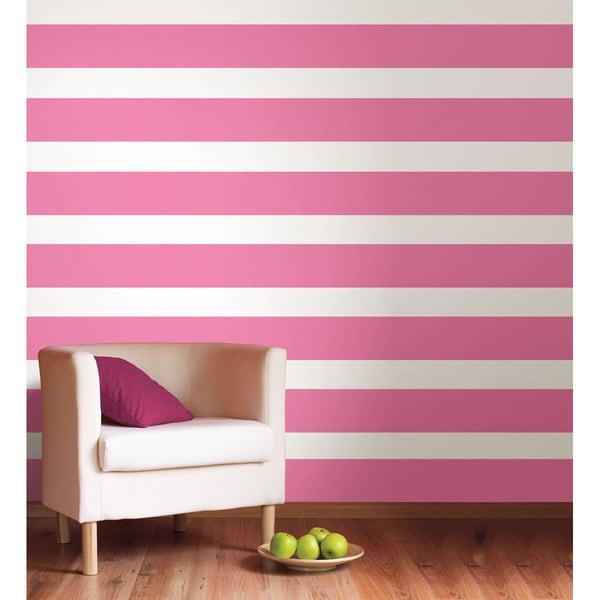 WallPops Flirt Stripe Decals (Set of 4)