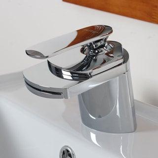 Elite Single Handle Chrome Bathroom Sink Faucet