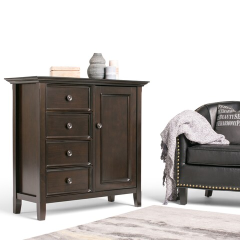 WYNDENHALL Halifax Medium Storage Media Cabinet and Buffet
