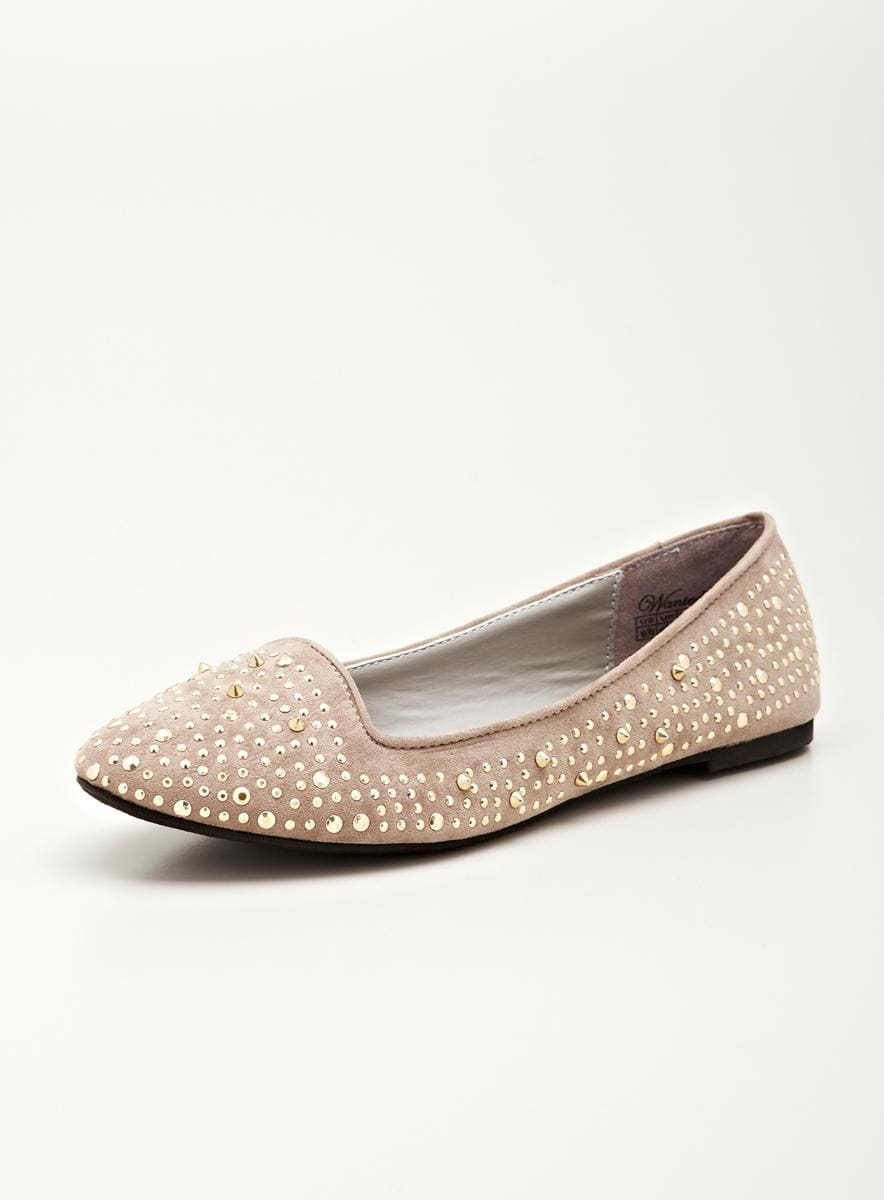 Wanted Ignite ballet flat in gold