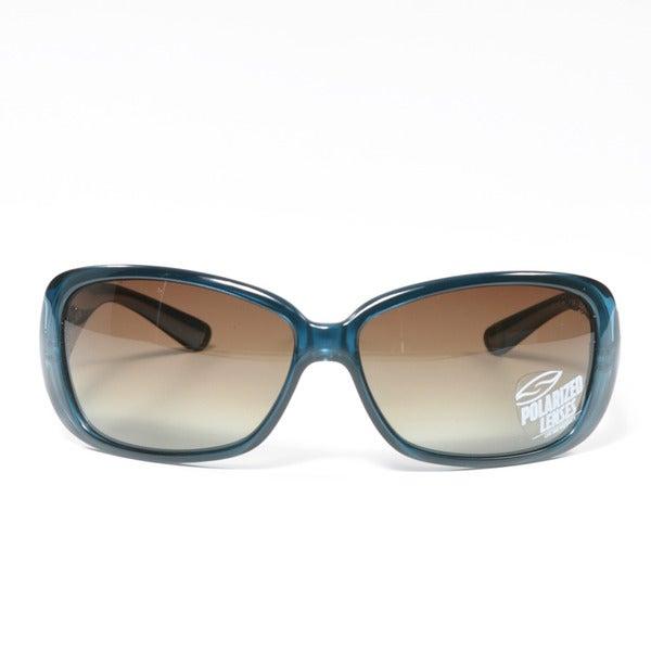 61e3ec24732 Shop Smith Women s Shoreline Blue Steel Sunglasses - Free Shipping ...