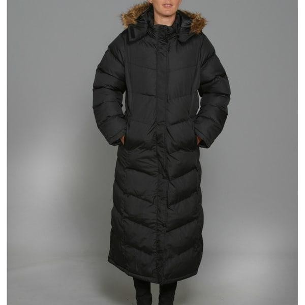 Red Fox Women&39s Black Puffy Long Coat - Free Shipping Today
