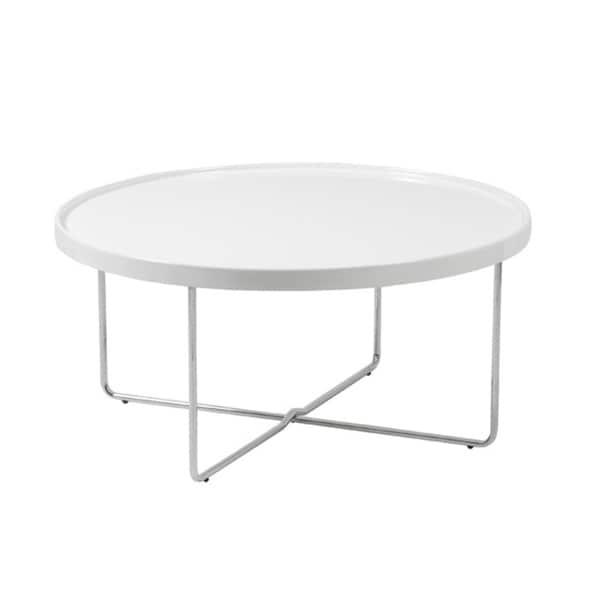Ozzie White Coffee Table