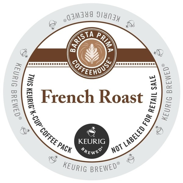 Barista Prima French Roast Coffee K-Cups for Keurig Brewers
