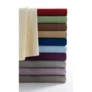 170-GSM Cozy Flannel Solid Extra Deep Pocket Sheet Set