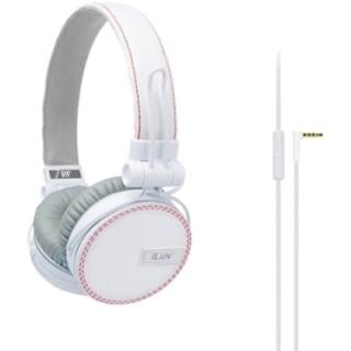 iLuv Deep Bass On-Ear Headphones With Canvas Fabric Exterior|https://ak1.ostkcdn.com/images/products/7481687/P14927101.jpg?impolicy=medium