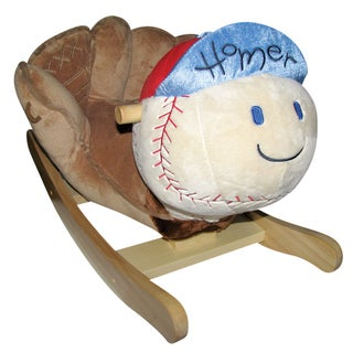 Charm Company 'Homer' Baseball Rocker
