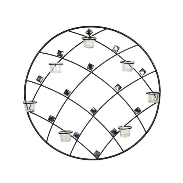 Elements 24-inch Round Diamond Gem Seven-Light Sconce