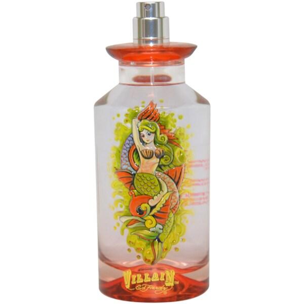 Shop Ed Hardy Villain Women's 4.2-ounce Eau De Parfum Spray (Tester)