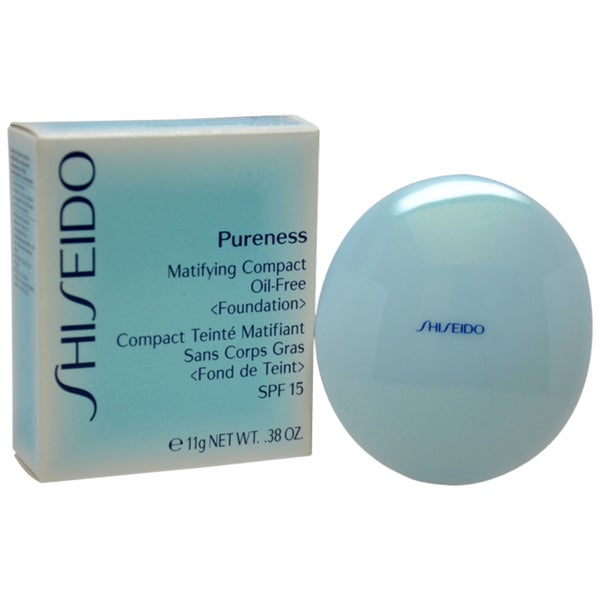 Shiseido Pureness 50 Deep Ivory Matifying Oil-free Foundation Compact
